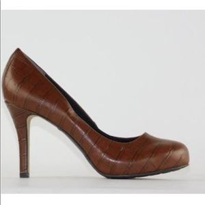Rockport walkability brown leather shoes